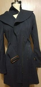 Costa Blanca Navy Trench Coat size M